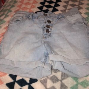 kinda used justice jean shorts!
